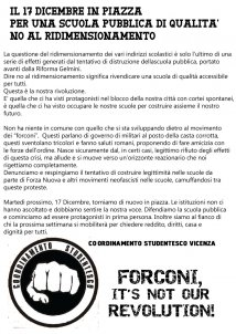 Vicenza - Forconi, it's not our revolution!