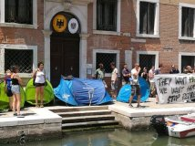 Venice - #YesWeCamp: We want Hamburg without G20