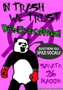 Reggio Emilia - **TRASH NIGHT//Benefit4Paz!**