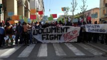 "Ancona - ""Document Fight!"" in 400 protestano contro la Commissione per l'asilo politico"