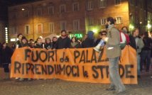 Urbino - Occupy parade, #17nov una giornata da rivendicare