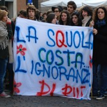 Verona - Corteo studentesco