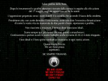 Anonymous non morirà mai! no more repression and profit: www.siulp.it 16.000 account hacked. Problem, Officer?