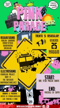 Trento - Pink parade 2012: Reclaim the city, reclaim the space!