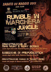 Rumble in Marghera Jungle @Rojava Playground
