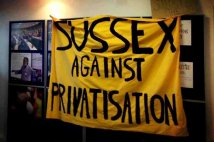 Gran Bretagna - Stop Privatisation: Occupy Sussex University