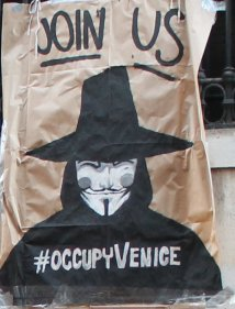 "17 Novembre #OCCUPYVENICE: ""OCCUPY THE WORLD"" ALLA BIENNALE DI VENEZIA"