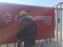 Sanctioned the office of Leonardo-Finmeccanica in Venice in solidarity with Kurdish people