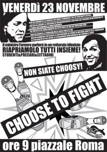 Venezia - Be choosy, choose to fight