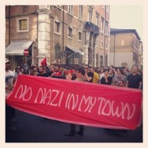Casapound: No nazi in my town