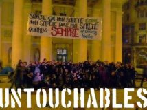 #occupytrieste - 11.11.11 the Next Step. We are the only untouchables. Their profits are not!