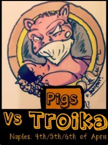 Pigs against troika/ income  against debt / commons against  profits