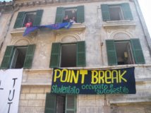 Roma - Nasce Point Break, studentato occupato da Crew in Onda